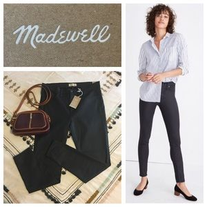 "🆕 Madewell 9"" High Rise Skinny Jeans Black"